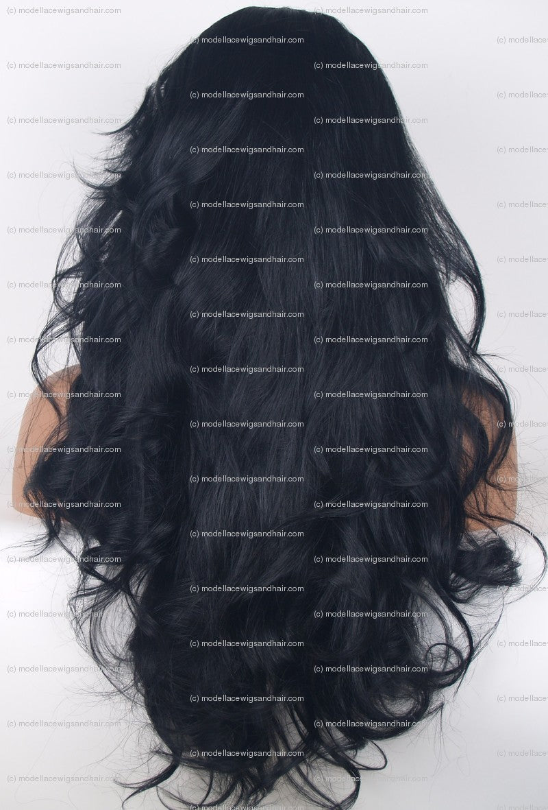 Full Lace Wig (Nora) Item#: 614-Model Lace Wigs and Hair