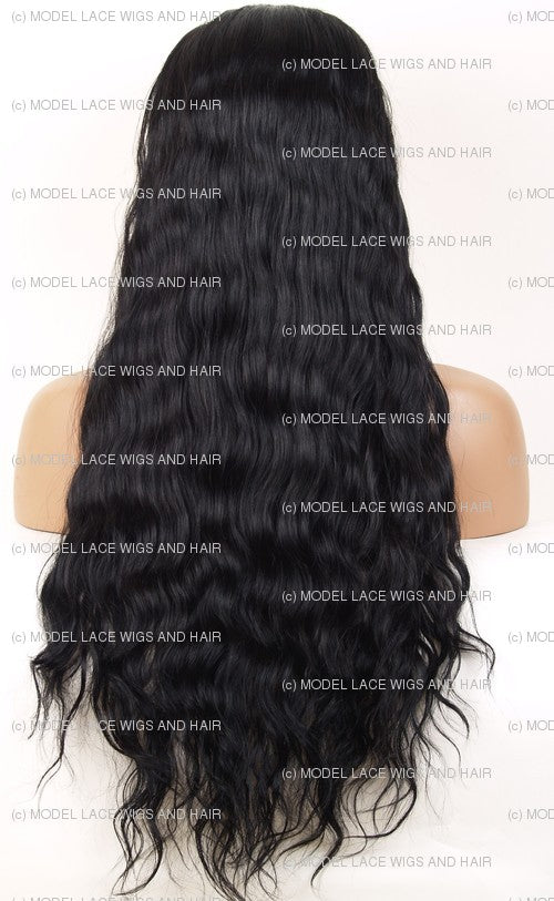 Lace Front and Nape Wig (Abigail) Item#: FN65-Model Lace Wigs and Hair