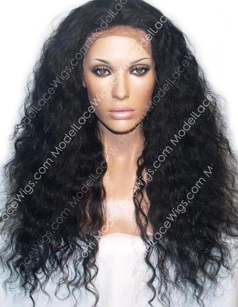 Full Lace Wig (Gypsy) Item#: 660-Model Lace Wigs and Hair