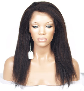 Kinky Straight Full Lace Wig