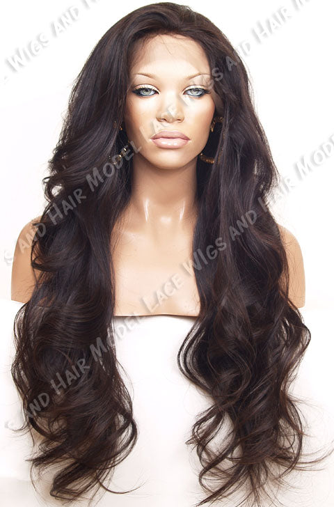 Full Lace Wig (Erica) Item# 694 • Light Brn Lace