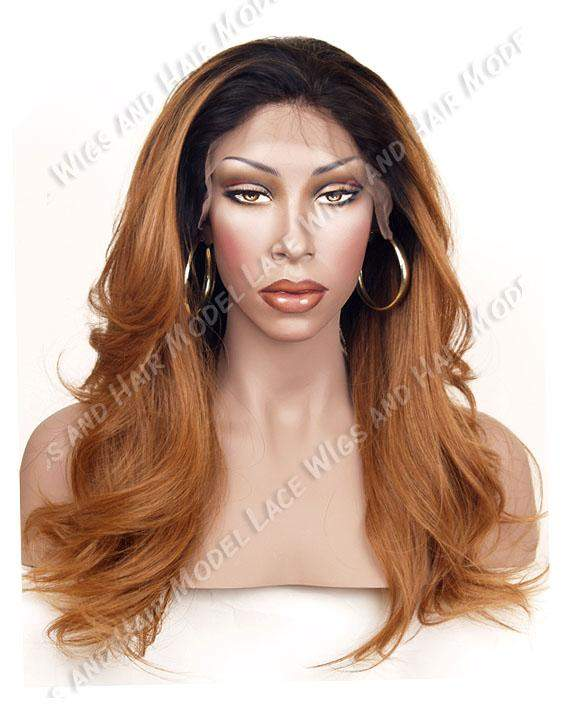 Auburn Ombre Full Lace Wig | Model Lace Wigs and Hair