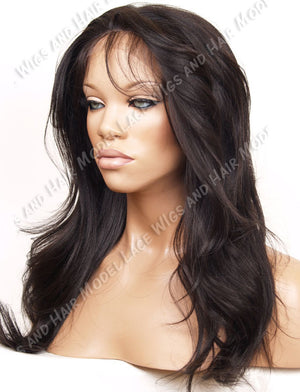 Glueless Full Lace Wig (Clarice) Item#: G747-Model Lace Wigs and Hair