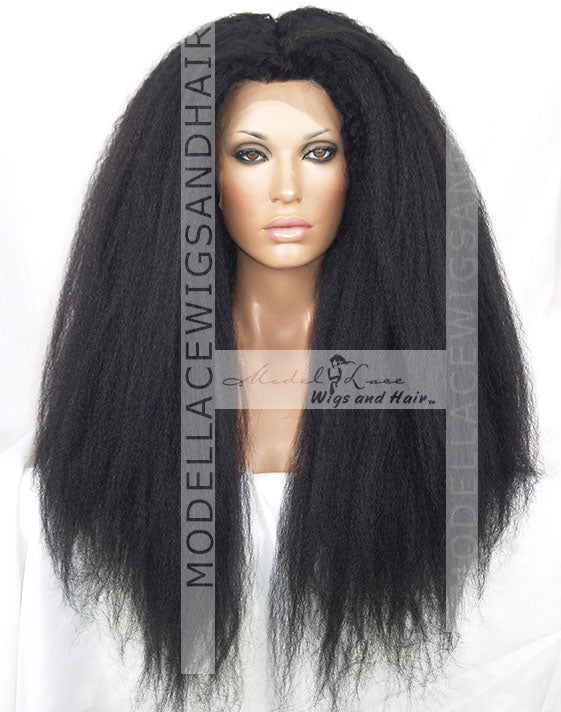 Item#: 85014 Full Lace Wig (Addison) Custom Order Ships in 4-6 weeks.-Model Lace Wigs and Hair