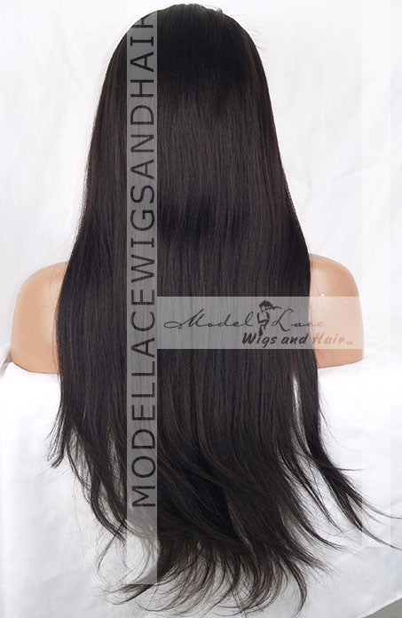 Full Lace Wig (Haile) Item#: 808-Model Lace Wigs and Hair
