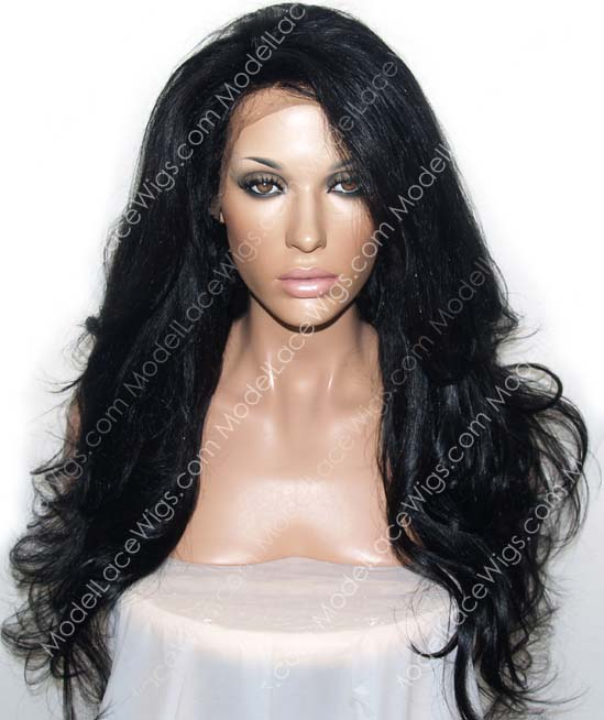 Full Lace Wig (Sameena) Item#: 895-Model Lace Wigs and Hair