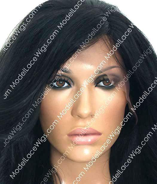 Lace Front Wig (Samuela) Item #: LF412-Model Lace Wigs and Hair