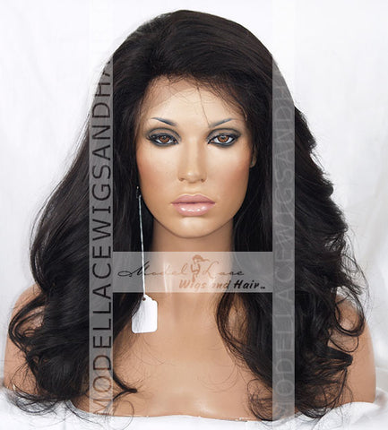Full Lace Wig (Gabby) Silk-Top Item#: 9214