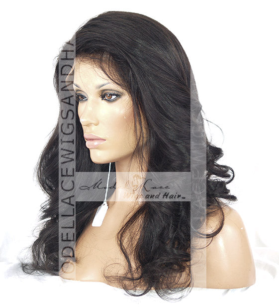 Full Lace Wig (Gabby) Silk-Top Item#: 9214-Model Lace Wigs and Hair