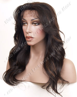 Glueless Lace Front Wig (Kendra) Item#: F988-Model Lace Wigs and Hair