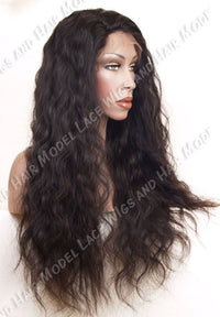 Brazilian Virgin Full Lace Wig | Model Lace Wigs and Hair