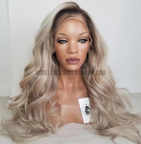 Ash Blonde Full Lace Wig