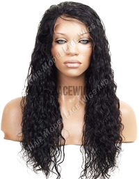 Custom Curly Full Lace Wig (Aleka) Item#: 377