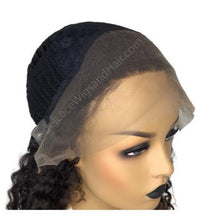 Lace Front Wig Cap 3 inch Front Parting Space_Model Lace Wigs and Hair