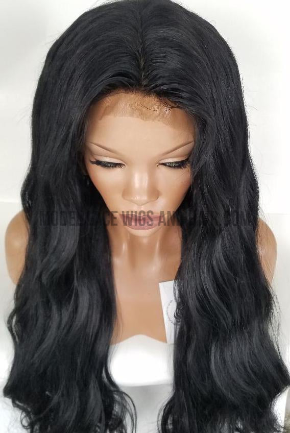 Long Body Wave Full Lace Wig Large Cap | Silk- Base Top
