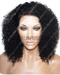 Afro Curl Lace Wig_ModelLaceWigs