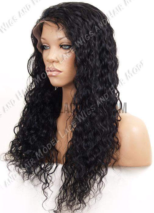 Full Lace Wig (Aleka) Item#: 377-Model Lace Wigs and Hair