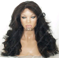 Full Lace Wig (Alexis) Silk Top Item#: 653-Model Lace Wigs and Hair