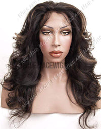 Full Lace Wig (Amya) Item#: 7804-Model Lace Wigs and Hair