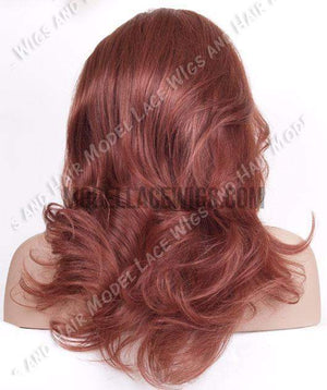 Red Lace Front Wig | Model Lace Wigs and Hair