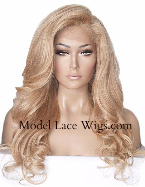 Item# 6597 (Annora) Full Lace Wig with Silk Base Top
