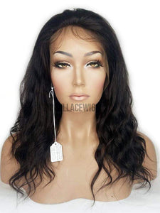 IN-STOCK Lace Front Wig with a Silk Base Top (Dinah) Item#: F447
