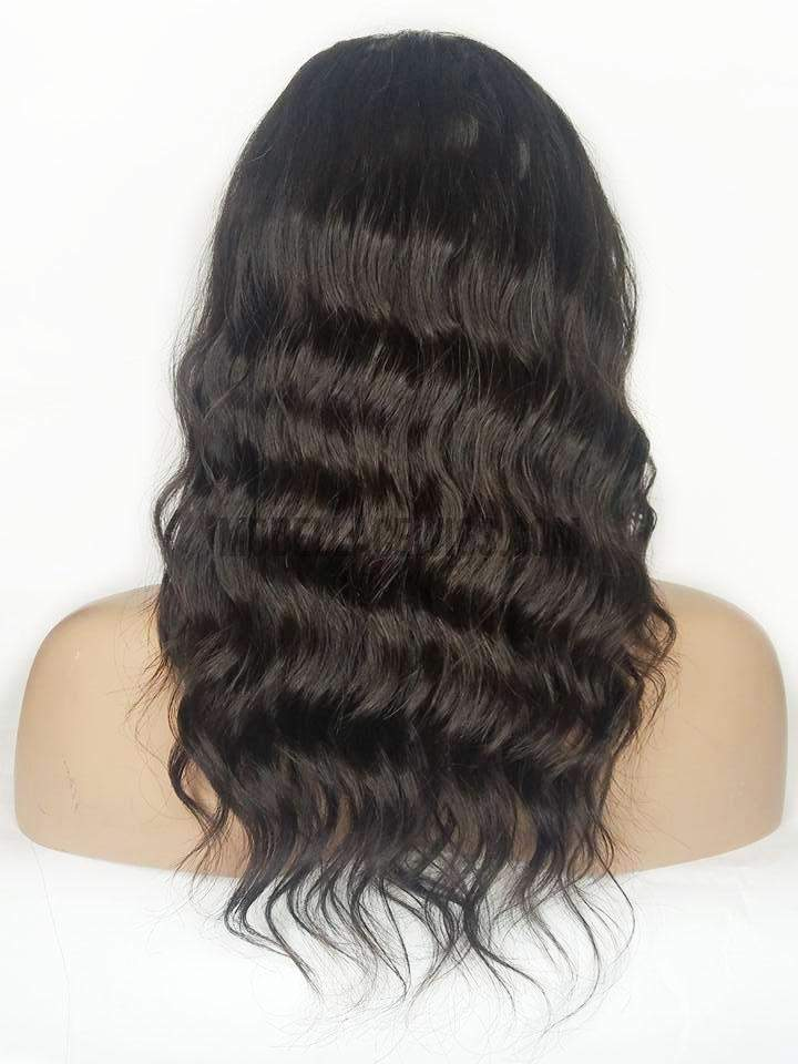 Lace Front Wig with a Silk Base Top (Dinah) Item#:LF447