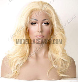 Pre-Bleach Blonde Glueless Full Lace Wig