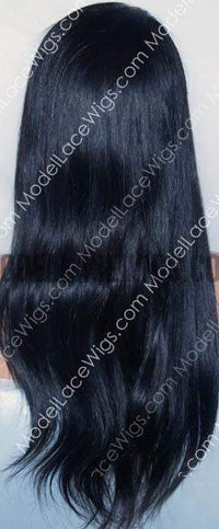 Full Lace Wig (Charie) Silk Top Item#: 625-Model Lace Wigs and Hair