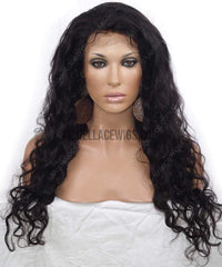 Full Lace Wig (Claudia) Item#: 877-Model Lace Wigs and Hair
