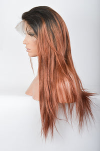 Ombre Auburn Lace Wig | Model Lace Wigs and Hair