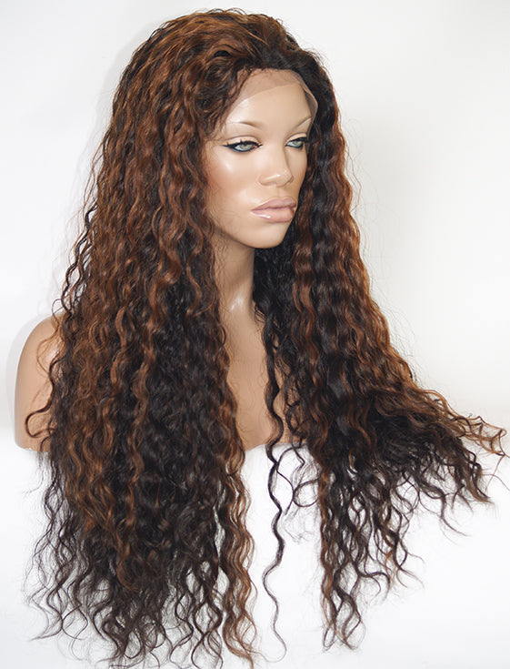 Custom Full Lace Wig (Samina) Item #865 HDLW