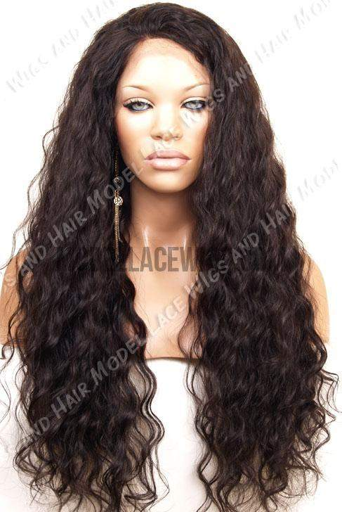 Full Lace Wig (Emily) Item#: 468-Model Lace Wigs and Hair