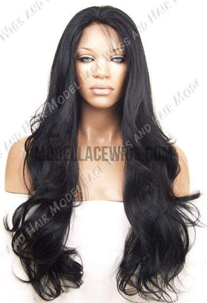 Black Full Lace Wig | Model Lace Wigs and Hair