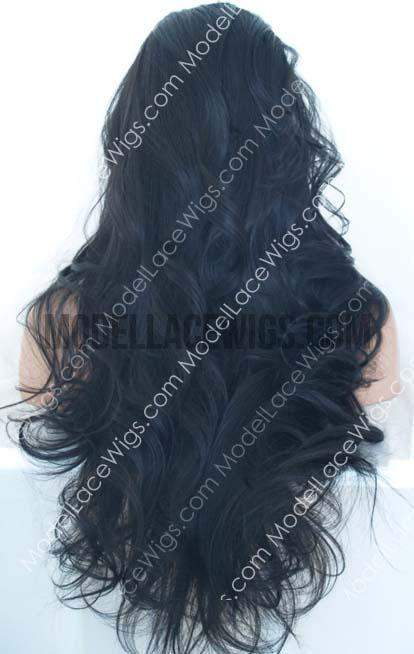 Full Lace Wig (Feodora) Item#: 450-Model Lace Wigs and Hair