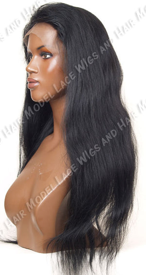 Lace Front Wig (Rachel) Item# FN10-Model Lace Wigs and Hair