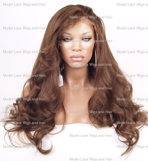 Lace Front and Nape Wig (Kourtney) Item#: FN37