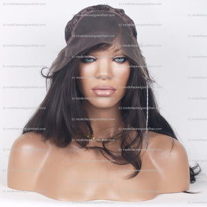 Lace Front and Nape Wig (Carol) Item#: FN46