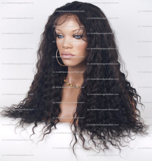 Lace Front and Nape Wig (Aster) Item#: FN47