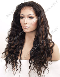 Custom Lace Front Wig (Lady) Item#: FN89