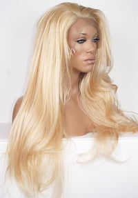 Custom Blonde Lace Front Wig 180% Density Item#360LF5 HDLW