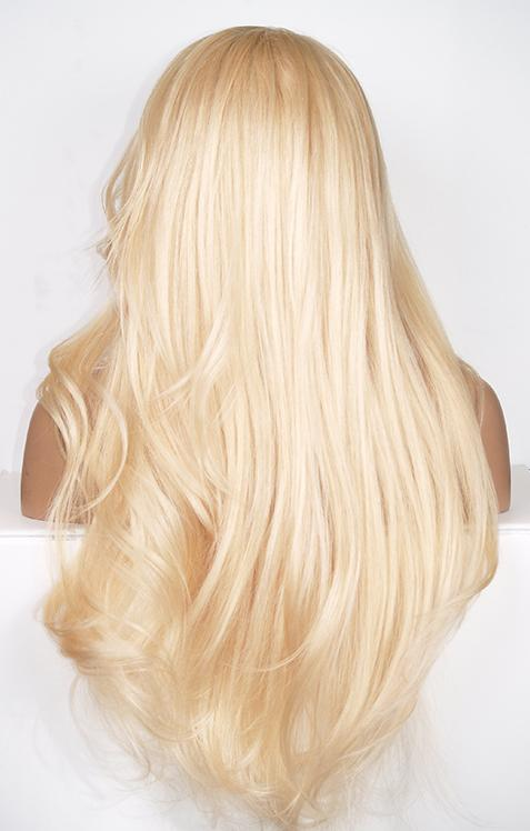 Blonde 360 lace front wig