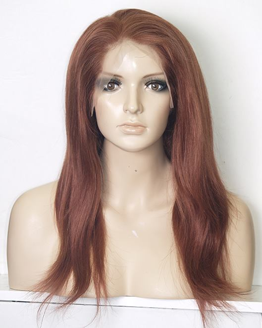 Auburn Full Lace Wig | Model Lace Wigs and Hair