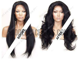 Lace Wig Cut and Style