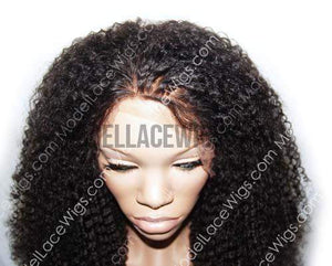 Afro 360 lace front wig