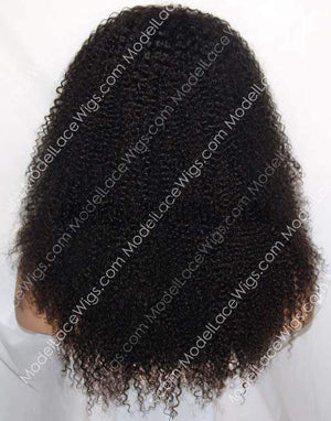 Afro Kinky Curly 360 Lace Frontal Wig Item#554F
