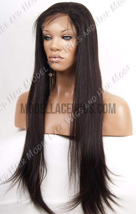 Full Lace Wig (Haile #1B/2) Item# 375 • Light Brn Lace