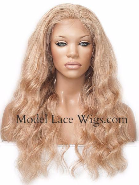 Item# 6587 (Liana) Full Lace Wig with Silk Base Top