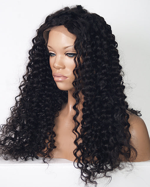 Custom Lace Front Wig (Janet) Item#: F1702 HDLW