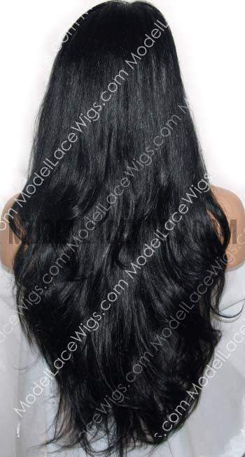 Full Lace Wig (Loralie) Item#: 887-Model Lace Wigs and Hair